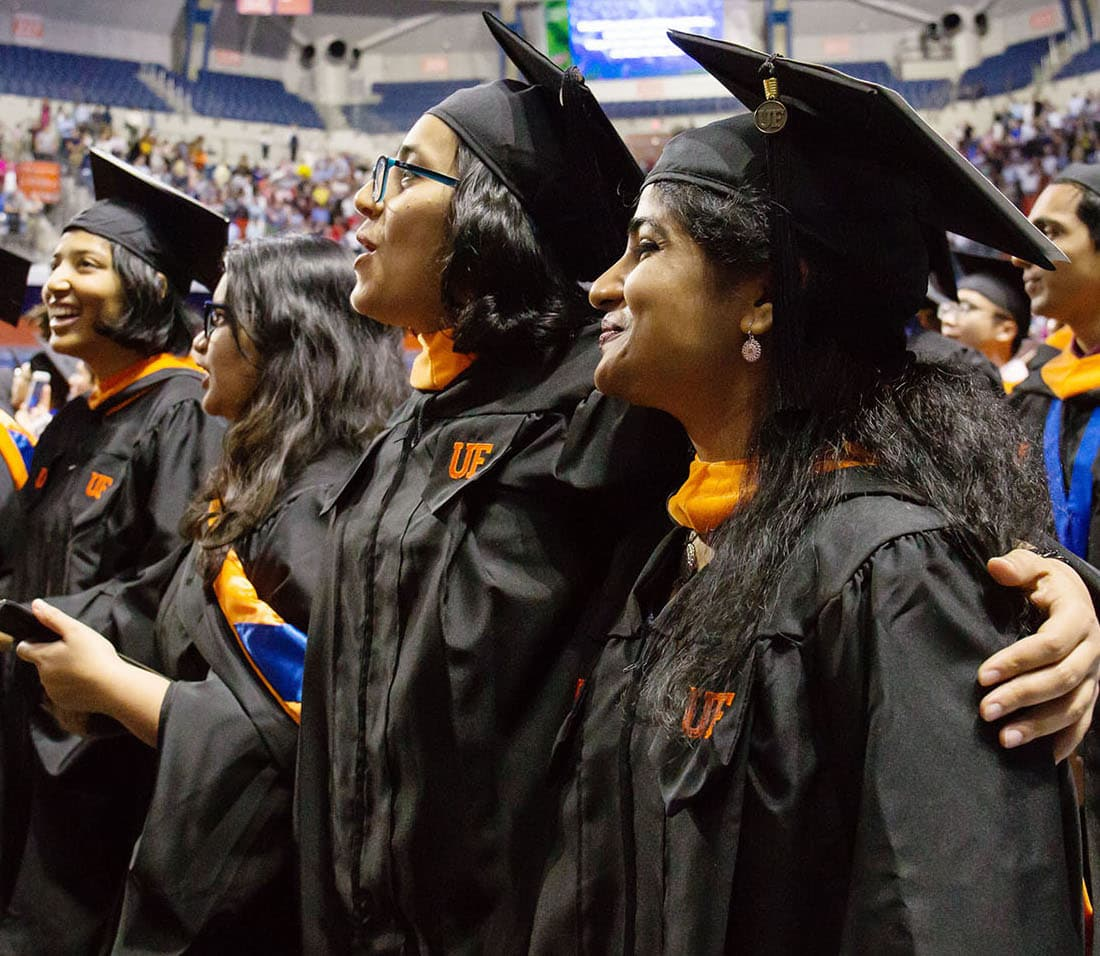 UF summer commencement ceremonies scheduled for Aug. 9-10